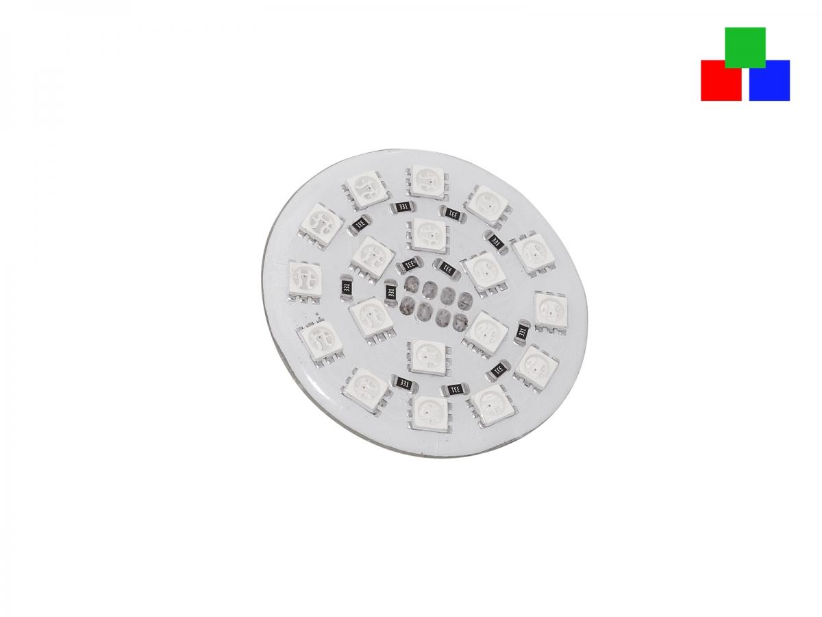 Platine für Deckeneinbau 24Vdc RGB vergossen schnell, günstig im ...
