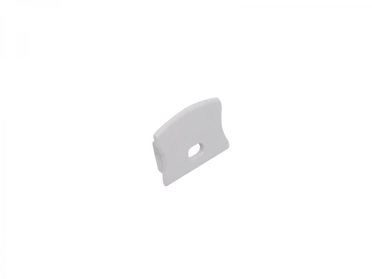 endkappe led alu u profil slim xl15mm mit kabeldurchg kunststoff kaufen pur led. Black Bedroom Furniture Sets. Home Design Ideas