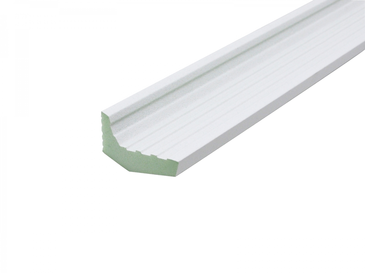 led stripe stuckleiste deckengestaltung im flur mit led spots led strips f r indirekte. Black Bedroom Furniture Sets. Home Design Ideas