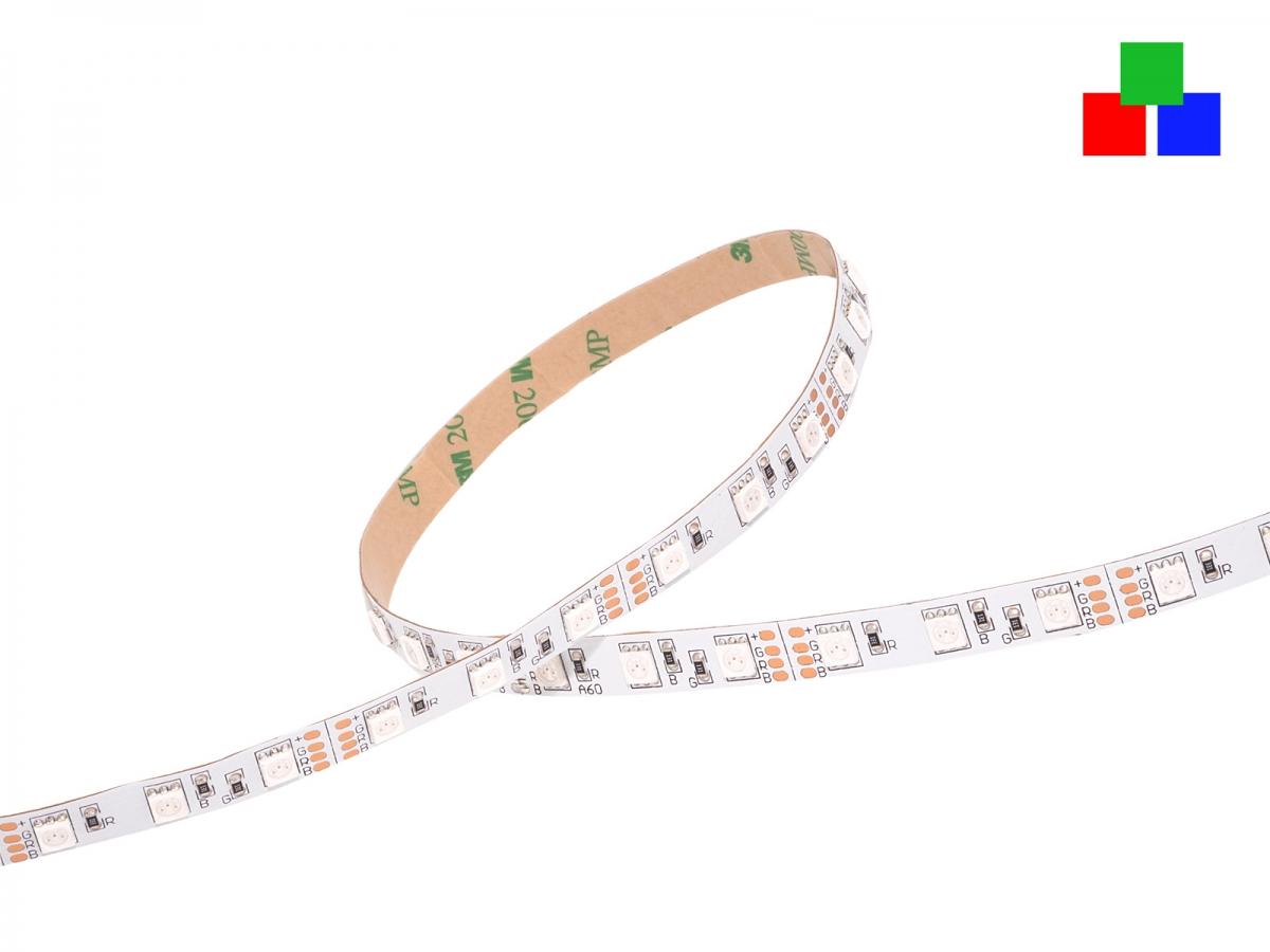 led band stripe rgb 12vdc 14w m 240lm m 60leds m extreme blitzschnelle lieferung. Black Bedroom Furniture Sets. Home Design Ideas