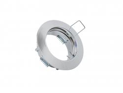 Deckeneinbau Fassung MR16/GU10 für LED-Spots 50mm -chrom-