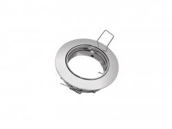 Deckeneinbaufassung MR16/GU10 schwenkbar für LED-Spots 50mm -chrom-