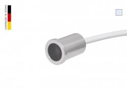 Filigrane LED-Einbauleuchte IP67, kaltweiß, 12Vdc / 0,5W  -Mediterran-