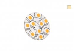 LED-G4 Leuchte dimmbar, warmweiß, 10-30Vdc, 2W, ~140LM, 10xLED, Stifte hinten