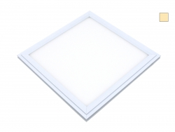 PUR-LED Panel-Light 595 warmweiß, 100-240Vac, 58W max, CRI 80, 4600 Lumen, dimmbar mit DALI, DMX, 0-10V