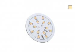 LED Platine warmweiß Deckeneinbau 24Vdc, 4W, 367lm, vergossen