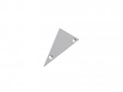 Endkappe links Alu-Voutenprofil XXLine ohne Kabeldurchgang