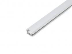 LED Alu Kühlprofil edge-line 2 Profil für Decken- und Wandmontage