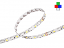 LED Stripe RGB-KW 24Vdc 14W/m 780lm/m 72LEDs/m 4-Kanal