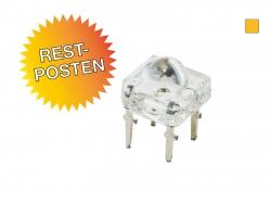 Restposten: 60 Stück LED ambergelb Superflux 2.4 Lumen max.