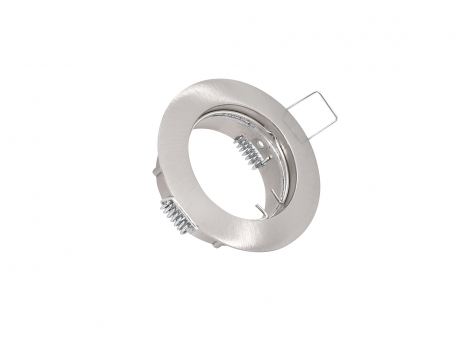 Deckeneinbau Fassung MR16/GU10 für LED-Spots 50mm -chrom matt-