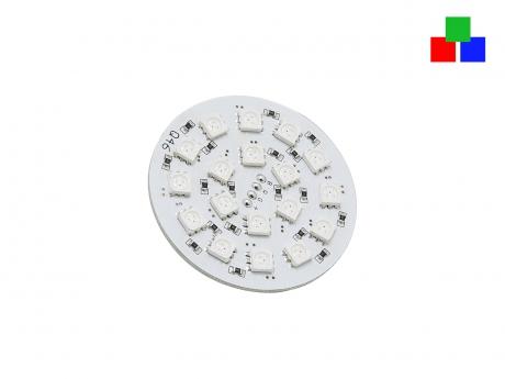 RGB LED Platine für Deckeneinbau 24Vdc unvergossen