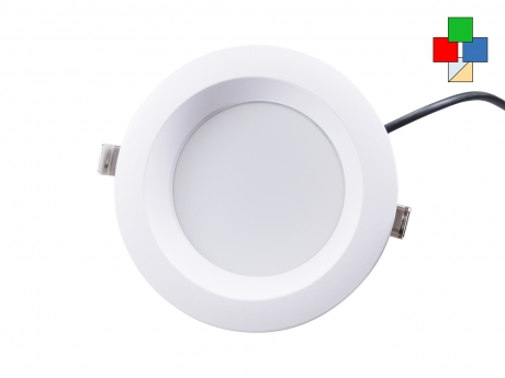 LED Deckenleuchte Nizza 24Vdc RGB(KW/WW) LED Panel farbsteuerbar