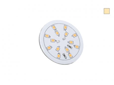 LED Platine für Deckeneinbau 24Vdc warmweiß IP65 | LED Cluster