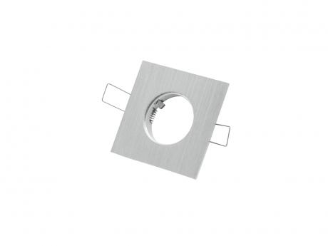 1-fach Einbaurahmen eckig für Cursa 2.5W -Aluminium-