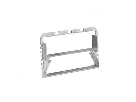 Verbinder für LED Alu U-Profil 116mm Aluminium