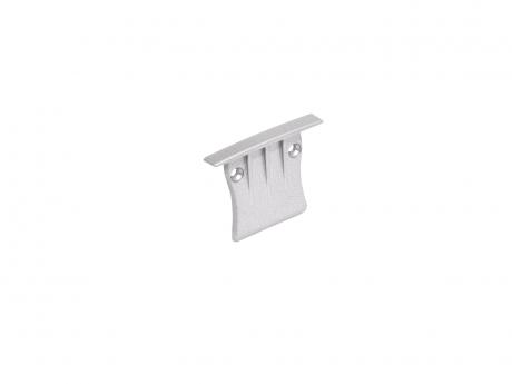 Endkappe LED Alu T-Profil Slim XL 28mm ohne Kabeldurchgang Alu