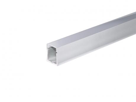 LED Alu U-Profil Slim XL28mm silber mit Abdeck