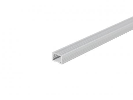 Alu U-Profil 13mm XXLine Classic si mit Abd 1,0m opalweiß