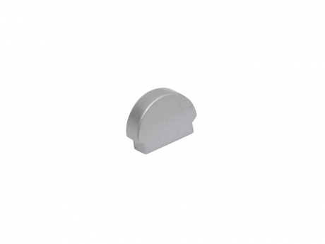 Endkappe LED Alu Profil XXLine Metro Kunststoff grau