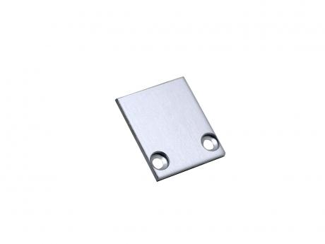 Endkappe LED Alu Profil XXLine Define Abdeckung hoch Alu