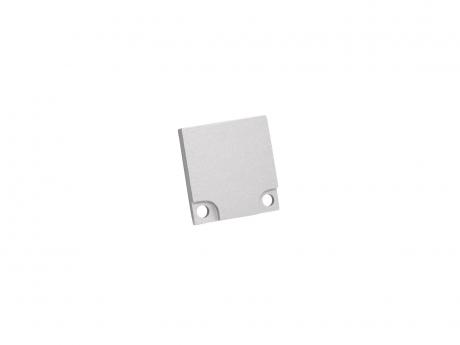 LED Endkappe LED Aluminium Profil XXLine High, Aluminium