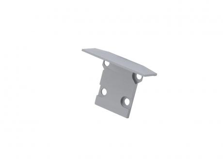 Endkappe LED Alu T-Profil XXLine High T Alu