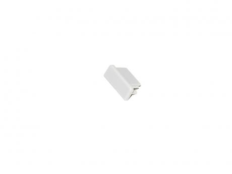 LED Endkappe LED Alu U-Profil AL-PU4 Kunststoff grau