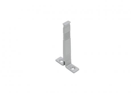 Deckenarm für LED Aluminium Rund-Profil, Aluminium