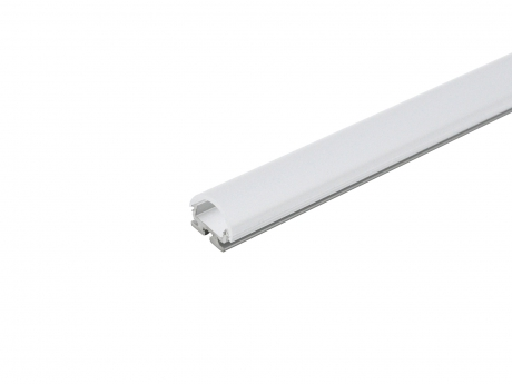 LED Alu Kühlprofil edge-line2 2,0m transparent 60° Linse