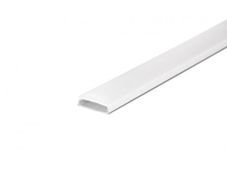 LED Profil biegsam Alu AL-PU15 mit Abdeckung 1,0m