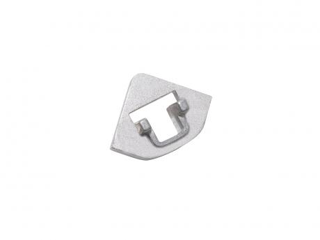 Verbinder für LED Aluminium Profil 45 Grad, Aluminium