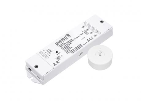 Restposten: Dimmer SET 12-36Vdc/4x5A Funk-Controller + Dimmer