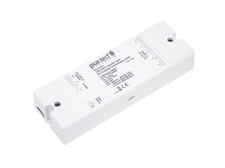 TRELIGHT LED Dimmer Funk Empfänger Tastereingang 12-36Vdc 4x8A