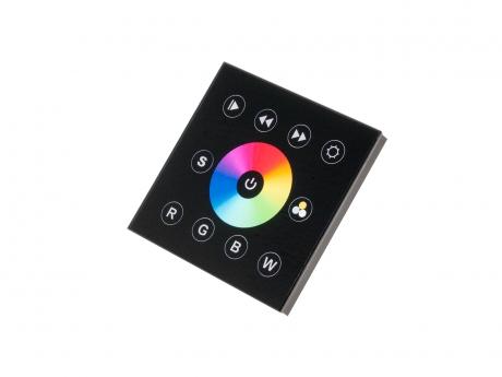 LED RGB(W) Wandsteuerung 12Vdc DMX512 Ausgang weiß