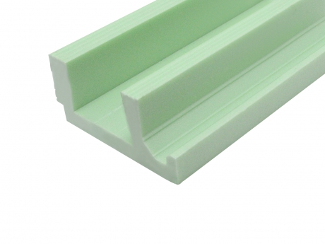 1180mm Deko-Profil 4 für flexible LED Stripes / Spots
