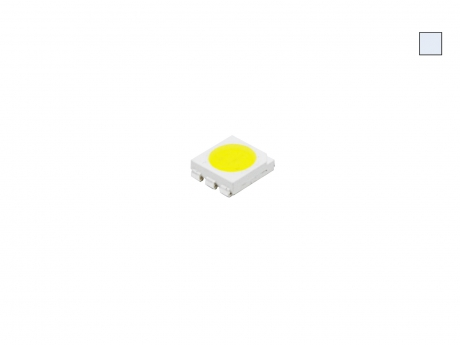 SMD PLCC6 3-CHIP 5060 LED kaltweiß ca. 15 Lumen