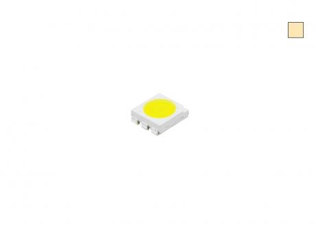 SMD PLCC6 3-CHIP 5060 LED warmweiß ca. 13 Lumen