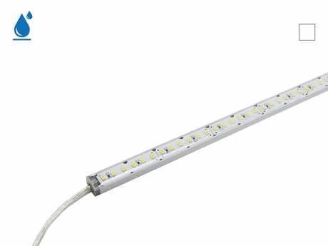 1m LED Leiste neutralweiß 24Vdc 9W 720lm 120LEDs IP65