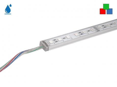 0,35m LED Leiste RGB 24Vdc 5,6W 116lm 24 LEDs IP65