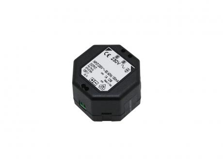 LED Netzteil 12Vdc 12W 1A für Unterputzdose