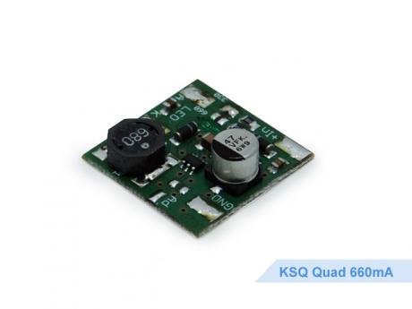 Restposten: KSQ Quad 660mA Platine 8-30Vdc