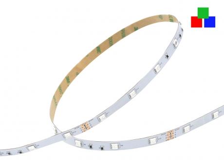LED Stripe RGB 24Vdc 7W/m 200lm/m 30LEDs/m