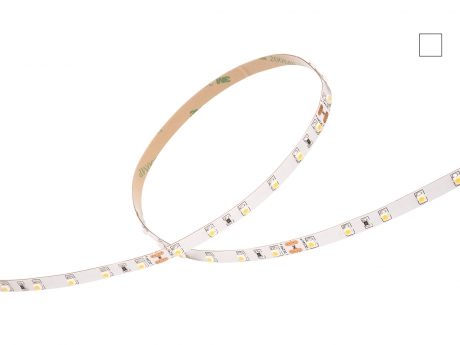 LED Stripe neutralweiß 24Vdc 4,5W/m 390lm/m 60LEDs/m 1CHIP 1,0m