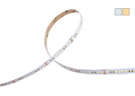 DUAL LED Stripe CCT 24Vdc 28W/m 2.700lm/m 168LEDs/m 3,0m