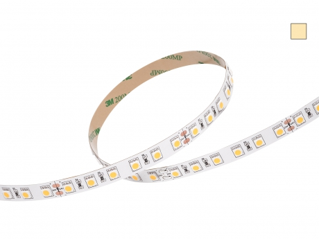 LED Stripe warmweiß CRI90 24Vdc 17W/m 1070lm/m 72LEDs/m 3C