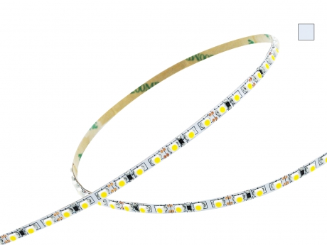 LED Stripe kaltweiß 12Vdc 8W/m 840lm/m 120LEDs/m 1CHIP Slim 5,0m