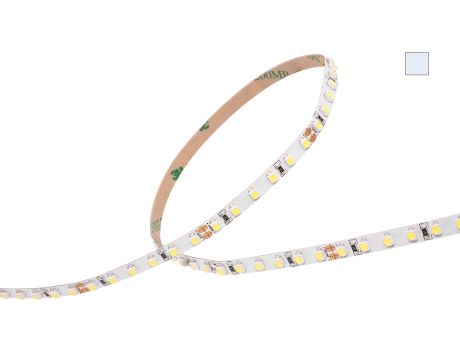 LED Stripe kaltweiß 24Vdc 8W/m 790lm/m 120LEDs/m Slim