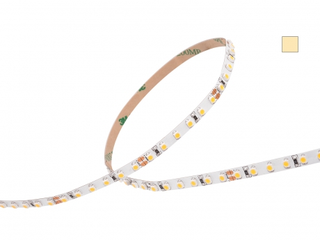 LED Stripe warmweiß 24Vdc 10W/m 750lm/m 120LEDs/m Slim 5,0m