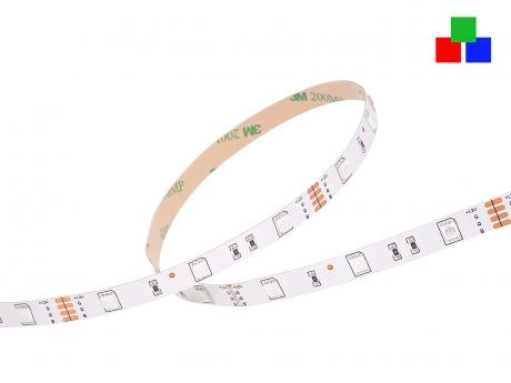 LED Stripe RGB 12Vdc 6W/m 120lm/m 30LEDs/m